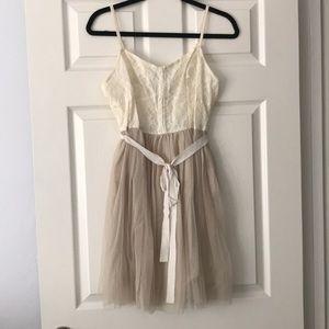 American Eagle Floral Ballerina Dress